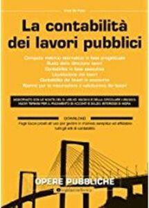 La contabilità dei lavori pubblici
