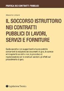 Il soccorso istruttorio nei contratti pubblici