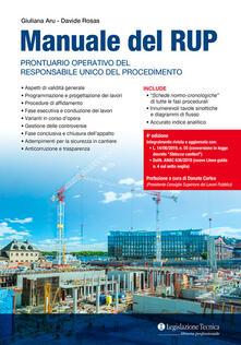 Manuale del RUP. Prontuario operativo del responsabile unico del procedimento.pdf