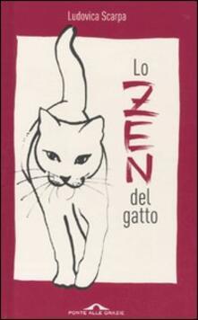 Lo zen del gatto - Ludovica Scarpa - copertina