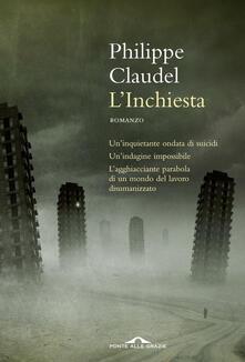 L' inchiesta - Philippe Claudel - copertina