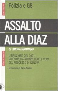 Assalto alla Diaz. L'irruzione ricostruita attraverso le voci del processo di Genova - Simona Mammano - copertina