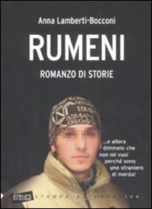 Rumeni - Anna Lamberti Bocconi - copertina