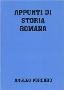 Appunti di storia romana