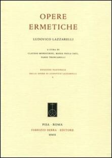 Nordestcaffeisola.it Ludovico Lazzarelli. Opere ermetiche Image