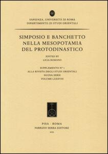 Simposio e banchetto nella Mesopotamia del Protodinastico