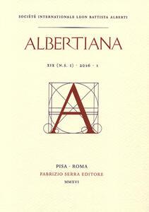 Albertiana. Nuova serie (2016). Ediz. francese e inglese. Vol. 1