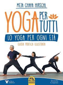 Aboutschuster.de Yoga per tutti. Lo yoga per ogni età. Guida pratica illustrata Image
