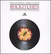 Capturtokyoedition.it Rockitchen. 30 menu per 30 dischi Image
