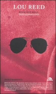 Promoartpalermo.it Lou Reed. Rock and roll. Testi commentati Image