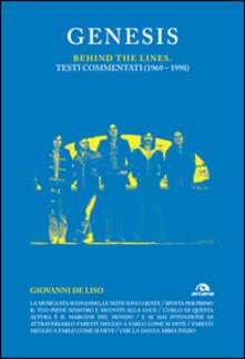 Filippodegasperi.it Genesis. Behind the lines. Testi commentati (1969-1998) Image