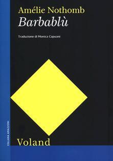 Barbablù - Amélie Nothomb - copertina