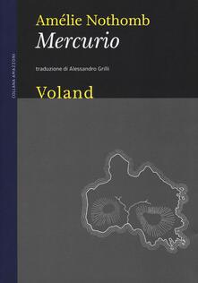 Mercurio - Amélie Nothomb - copertina