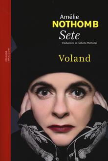 Sete - Amélie Nothomb - copertina