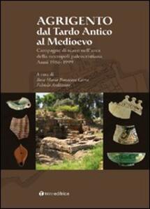 Agrigento dal tardo-antico al Medioevo. Campagne di scavo nell'area della necropoli paleocristiana. Anni 1986-1999