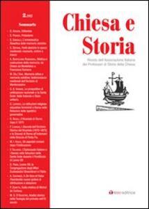 Chiesa e storia. Vol. 2