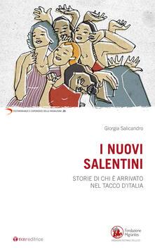 Writersfactory.it I nuovi salentini. Storie di chi è arrivato nel tacco d'Italia Image