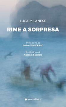 Rime a sorpresa - Luca Milanese - copertina