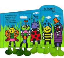 Amatigota.it 5 insetti birichini. Imparare giocando. Ediz. a colori Image