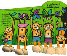 5 scimmie birichine. Imparare giocando. Ediz. a colori.pdf