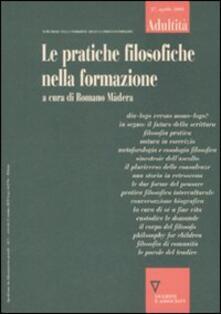Aboutschuster.de Adultità. Vol. 27: Le pratiche filosofiche nella formazione. Image
