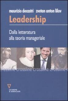 Winniearcher.com Leadership. dalla letteratura alla teoria manageriale Image