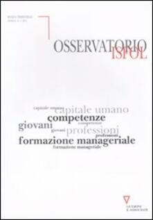 Vitalitart.it Osservatorio Isfol (2011). Vol. 1 Image