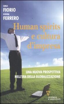Daddyswing.es Human spirits e cultura d'impresa. Una nuova prospettiva nell'era della globalizzazione Image