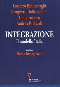 Libro Integrazione. Il modello Italia