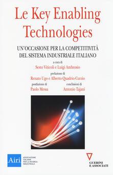 Camfeed.it Le key enabling technologies. Un'occasione per la competitività del sistema industriale italiano Image