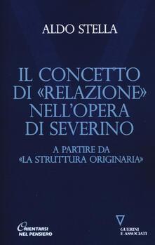 Daddyswing.es Il concetto di «relazione» nell'opera di Severino a partire da «La struttura originaria» Image