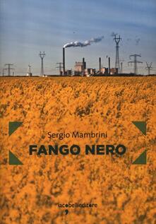 Fango nero - Sergio Mambrini - copertina