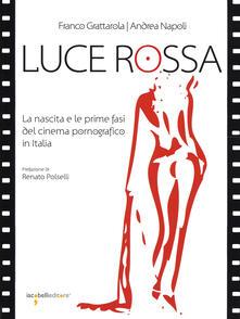 Luce rossa. La nascita e le prime fasi del cinema pornografico in Italia - Franco Grattarola,Andrea Napoli - copertina