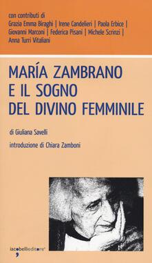 María Zambrano e il sogno del divino femminile.pdf