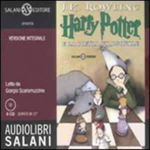 Harry Potter e la pietra filosofale letto da Giorgio Scaramuzzino. Audiolibro. 8 CD Audio. Vol. 1