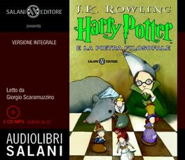 Harry Potter e la pietra filosofale letto da Giorgio Scaramuzzino. Audiolibro. 2 CD Audio formato MP3