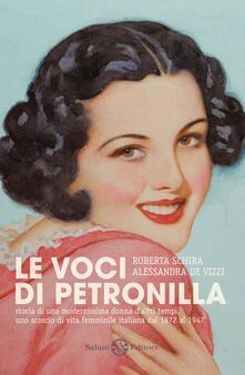 Scacciamoli.it Le voci di Petronilla Image