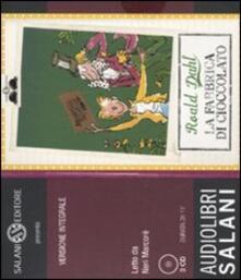 Vitalitart.it La fabbrica di cioccolato letto da Neri Marcorè. Audiolibro. 3 CD Audio Image