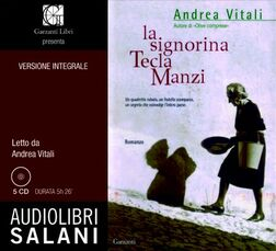 La signorina Tecla Manzi. Audiolibro. 4 CD Audio