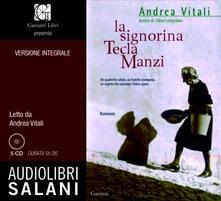 Winniearcher.com La signorina Tecla Manzi. Audiolibro. 4 CD Audio Image