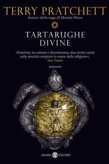Tartarughe divine - Terry Pratchett - copertina