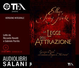 La legge dell'attrazione. Ediz. integrale. Audiolibro. 2 CD Audio formato MP3
