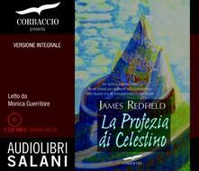 Cefalufilmfestival.it La profezia di Celestino letto da Monica Guerritore. Audiolibro. 2 CD Audio formato MP3. Ediz. integrale Image