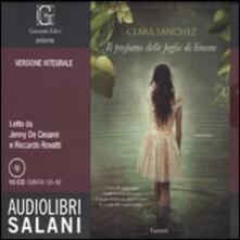 Il profumo delle foglie di limone. Ediz. integrale. Audiolibro. 10 CD Audio.pdf