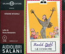 Adiaphora.it Le streghe. Audiolibro. 3 CD Audio Image