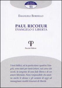 Paul Ricoeur. Evangelo e libertà