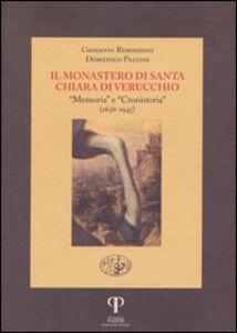 Il monastero di Santa Chiara di Verucchio. «Memoria» e «Cronistoria» (1636-1945)