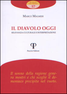 Il diavolo oggi. Rilevanza culturale e interpretazione - Marco Malmesi - copertina