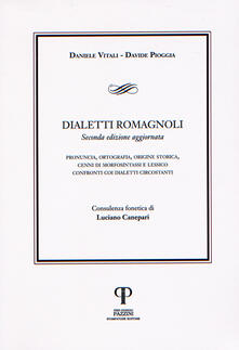 Dialetti romagnoli - Daniele Vitali,Davide Pioggia - copertina