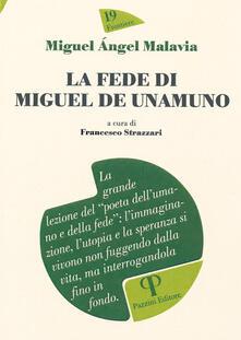 La fede di Miguel De Unamuno - Miguel Ángel Malavia - copertina